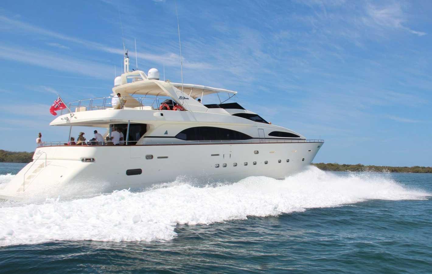 Lady Pamela Luxury Charter boat