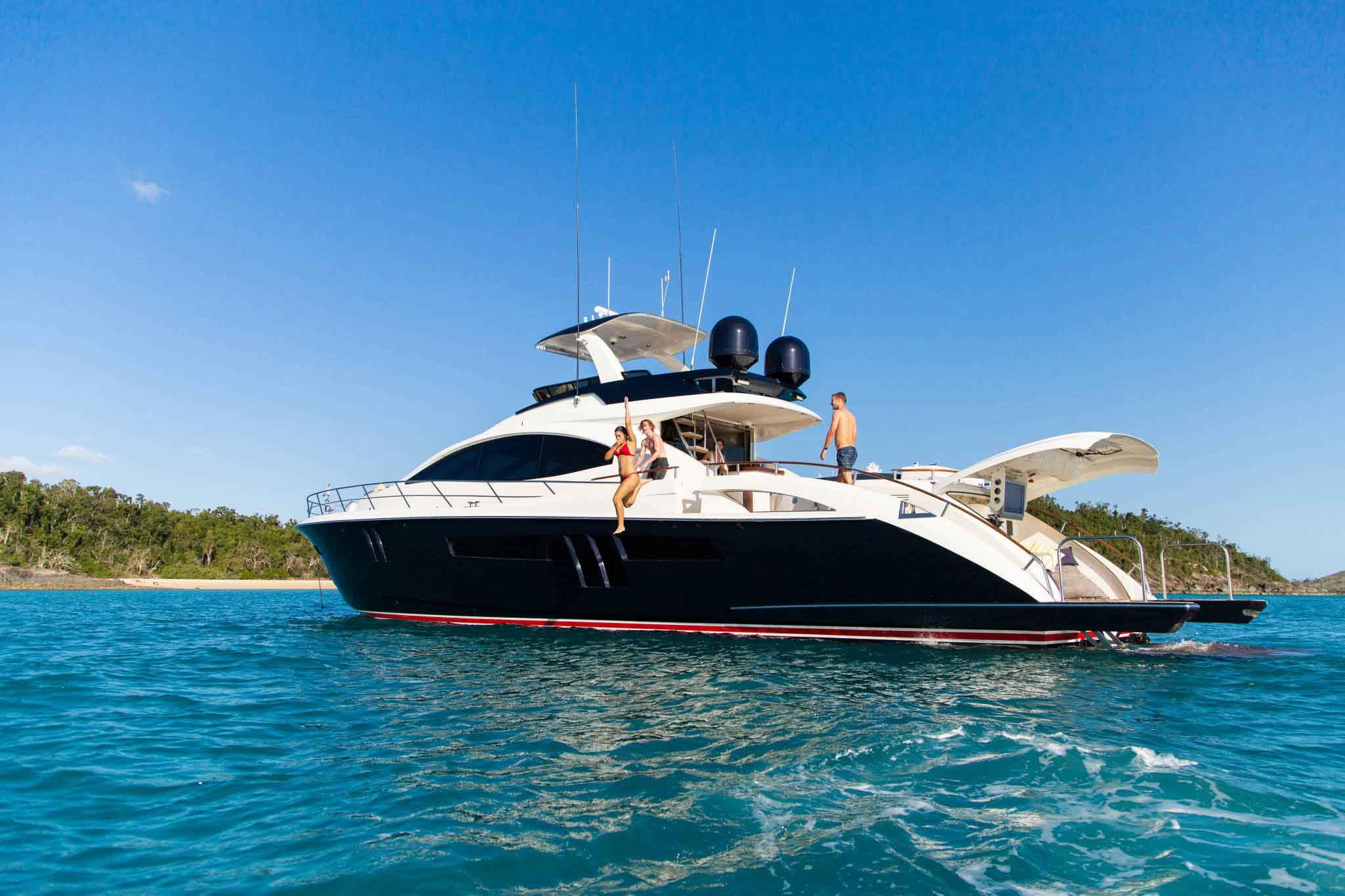 Awol Luxury Charter boat