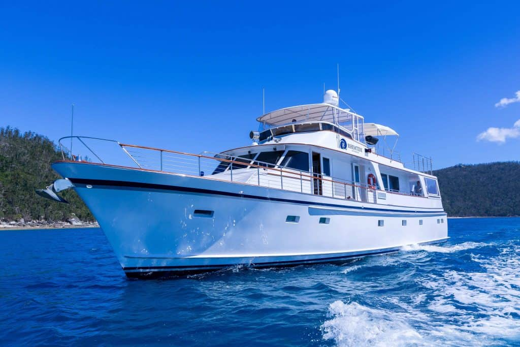 RHEMTIDE Luxury Charter boat