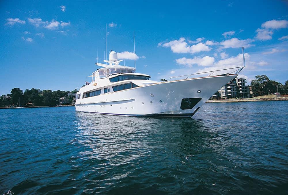 Phoenix One Superyacht Charters boat