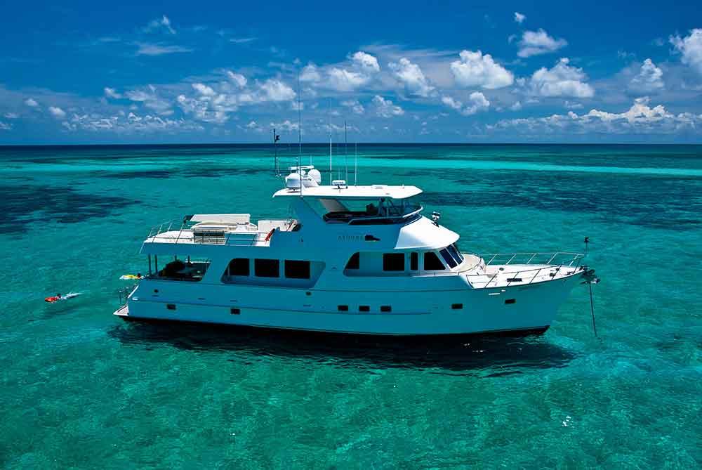 Aroona Luxury Charter boat