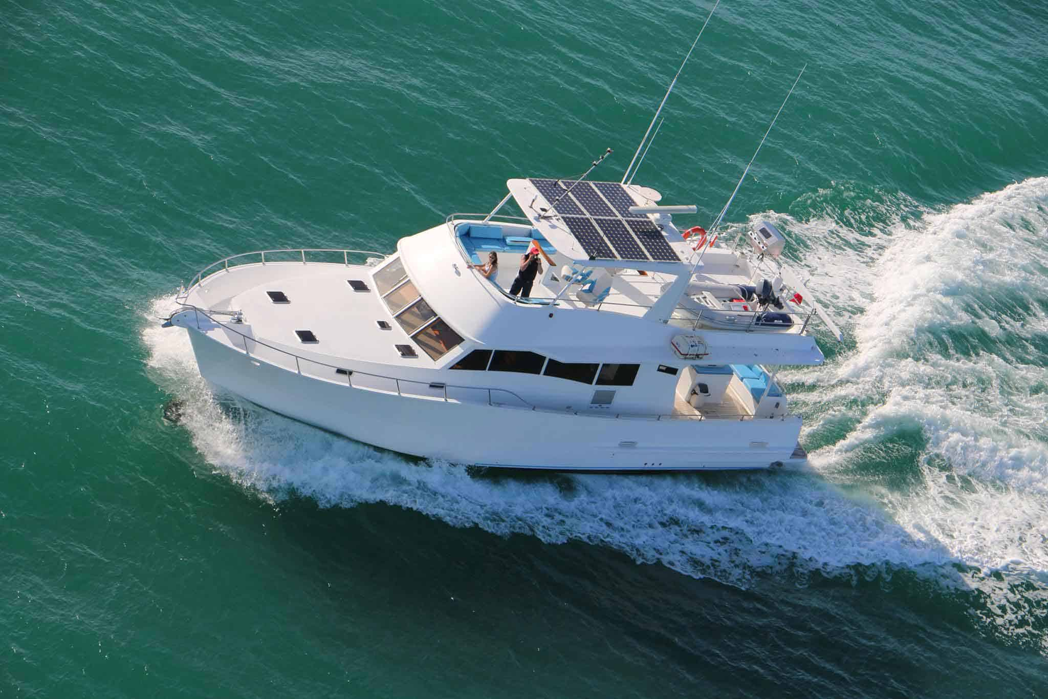 Monsoon Luxury Charter boat