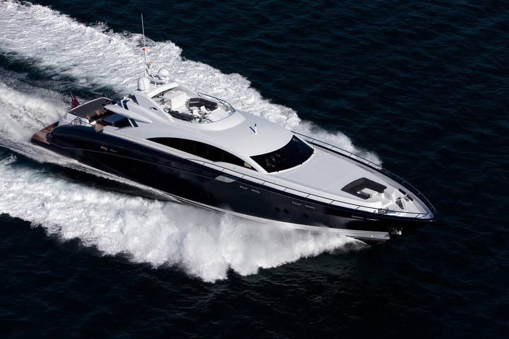 Quantum Superyacht Charters boat